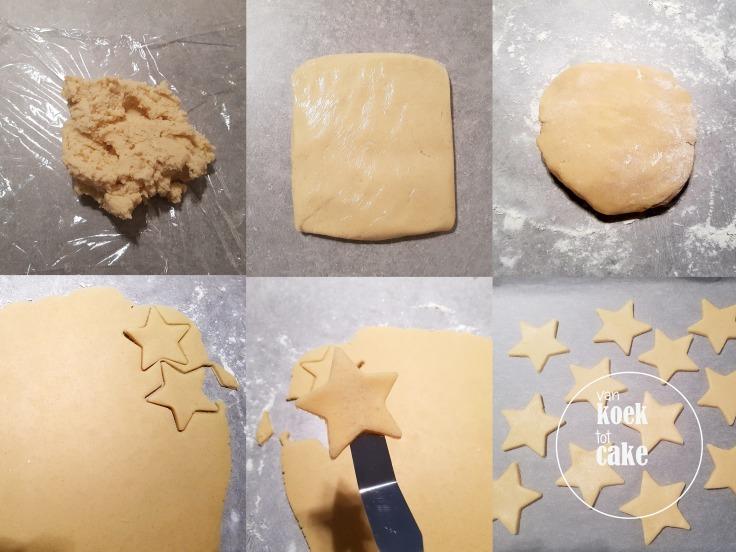 bereiding van de lekkerste kerstkoekjes met icing