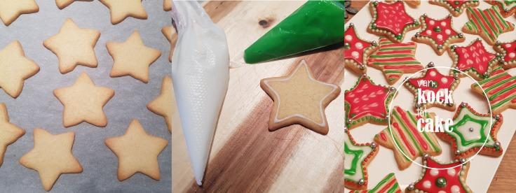 recept en bereiding icing kerstkoekjes