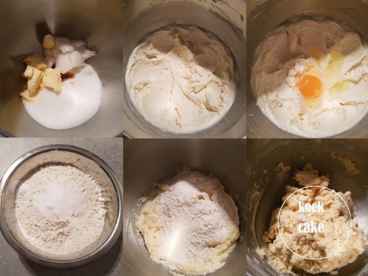recept bereiding feestelijke kerstkoekjes met icing