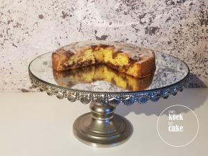 recept en bereiding cinnamon roll cake