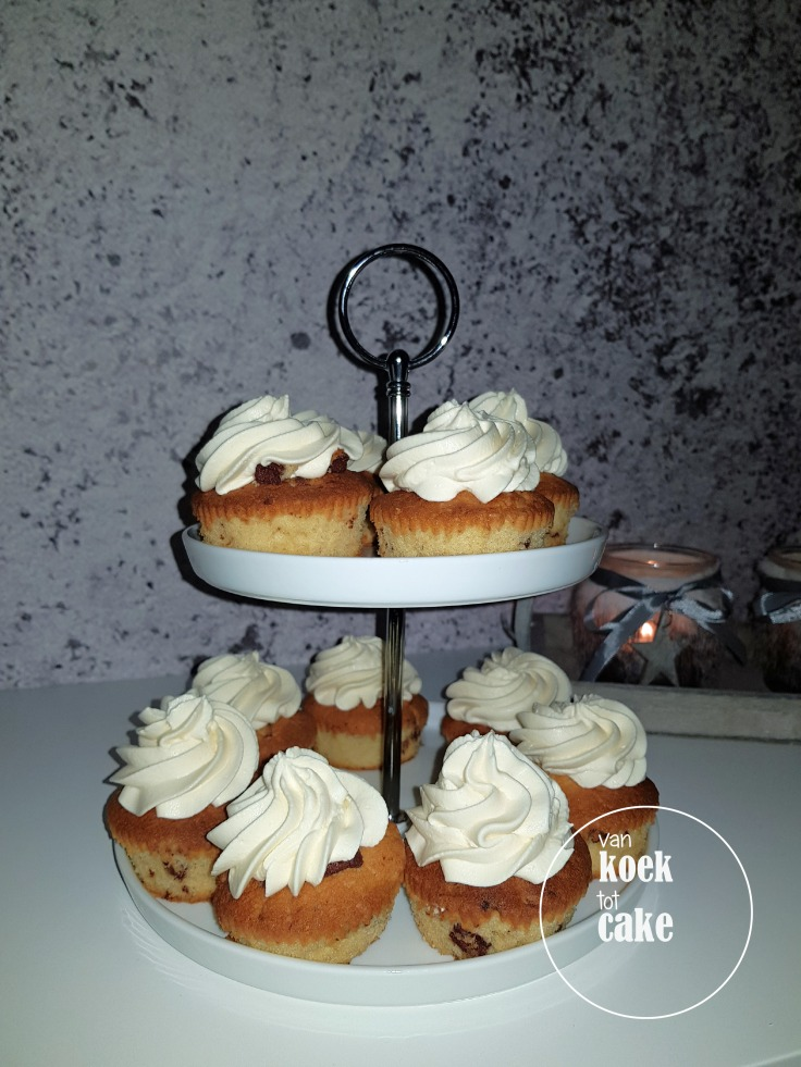 Cupcakes met Baileys en chocolade