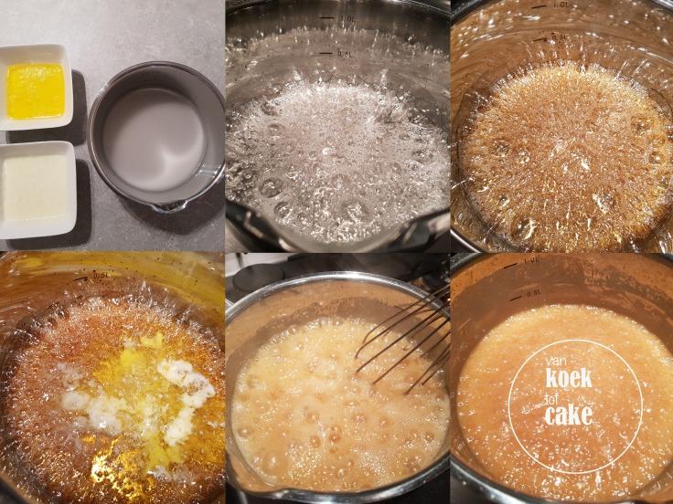 bereiding en recept gezouten karamel saus