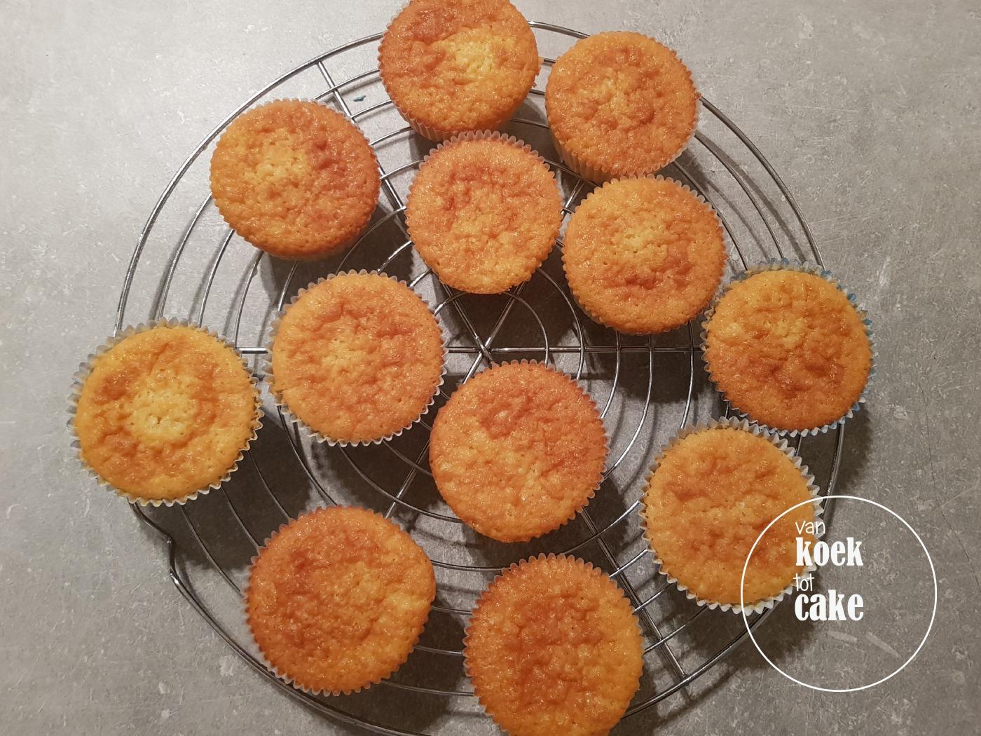 recept van koek tot cake vanille cupcakes