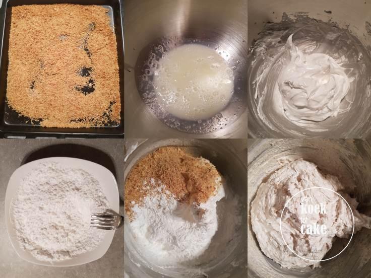 recept amandel mokka schuimtaart van koek tot cake
