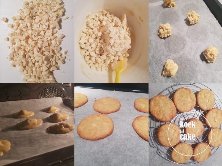 recept chewy chocolate chip cookies witte chocolade van koek tot cake koekjes