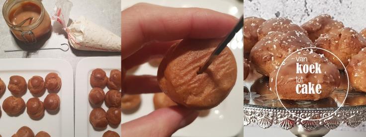 recept soesjes met gezouten karamel karamelsaus salty caramel