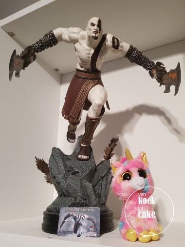 Kratos and Unicorn Van koek tot cake