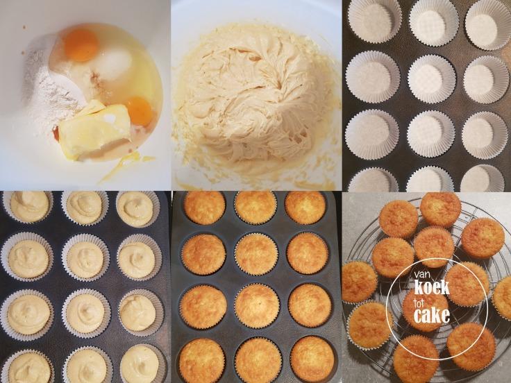 recept vanille cupcakes van koek tot cake