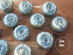 Cupcakes met een toef botercrème