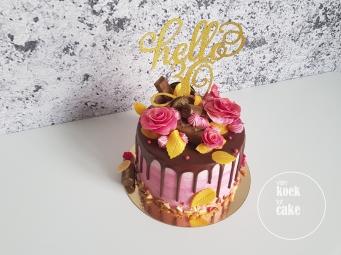 Verjaardagstaart Hello 30 - Van koek tot cake