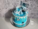 Taart babyshower kraamfeest geboorte jongen - van koek tot cake Middelburg