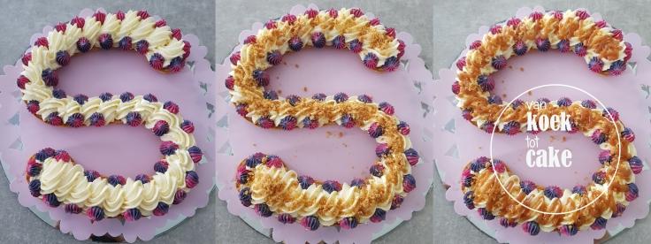 Letter eclair recept soesjes roomvulling gezouten karamel - van koek tot cake Middelburg