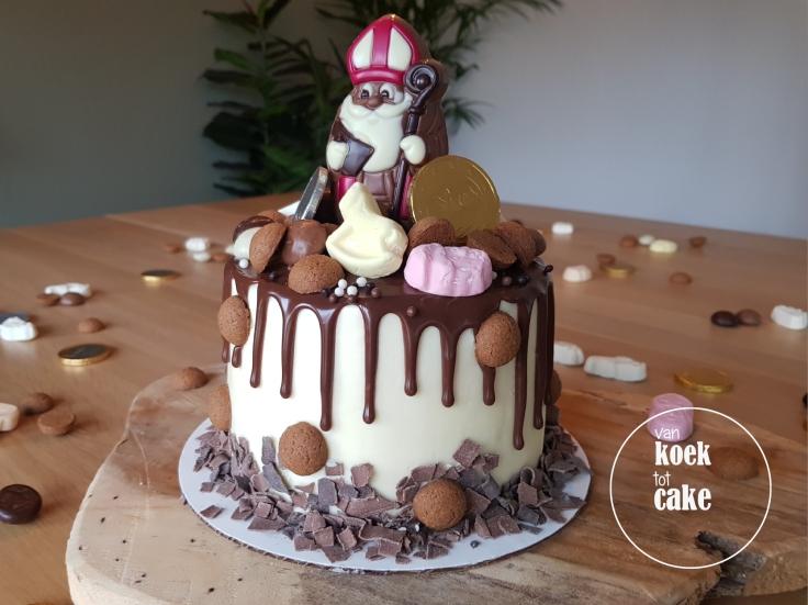 Sinterklaas dripcake bestellen voor Sinterklaas