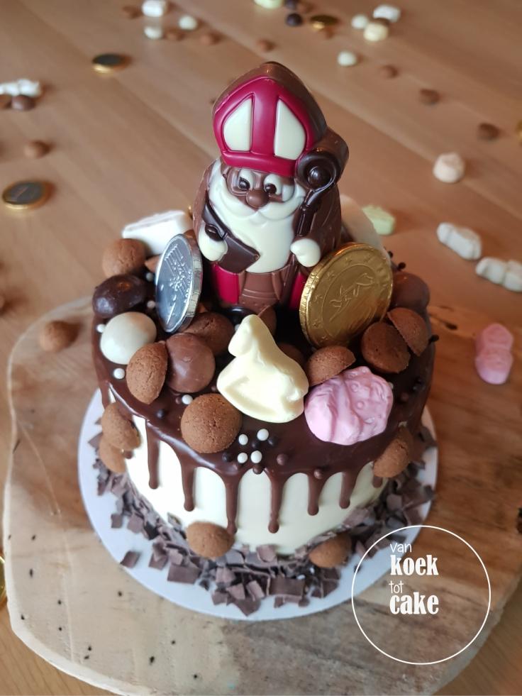 sSinterklaas dripcake bestellen voor Sinterklaas