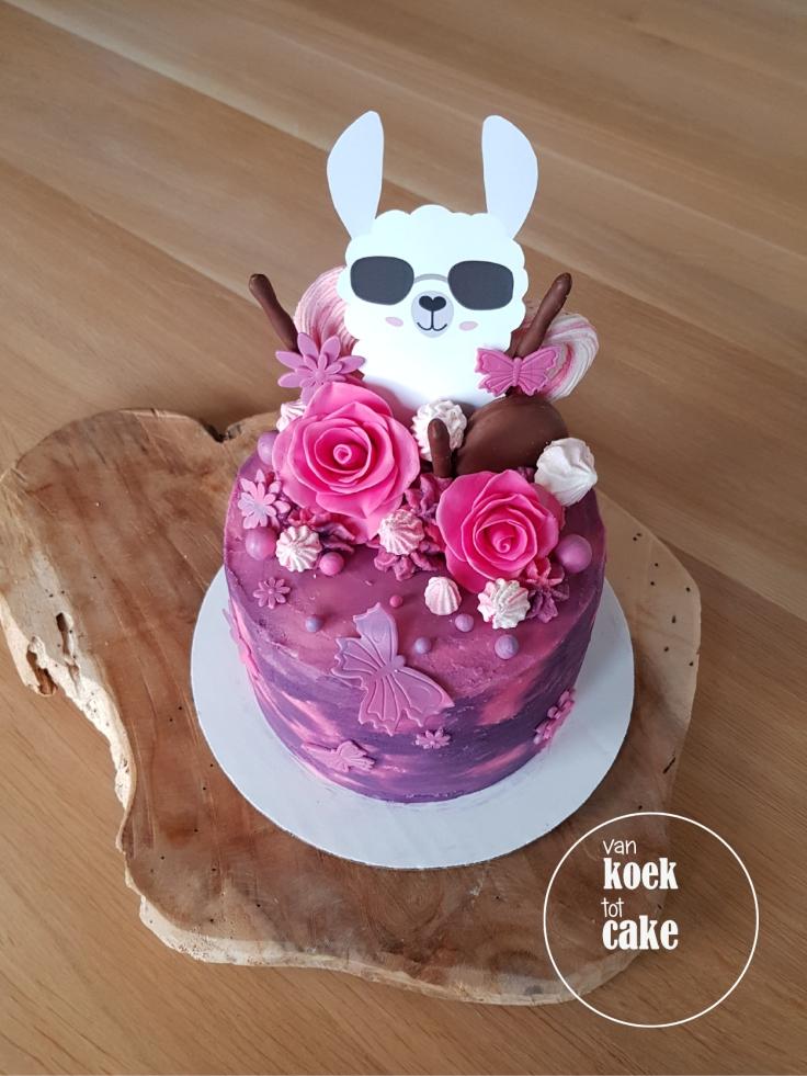 Alpaca Lama taart - van koek tot cake - Vlissingen Middelburg Oost-Souburg