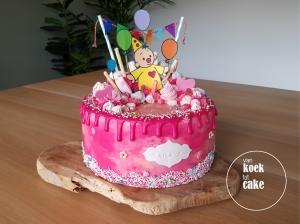 Bumba kindertaart dripcake - bestellen Vlissingen Middelburg Oost-Souburg - van koek tot cake