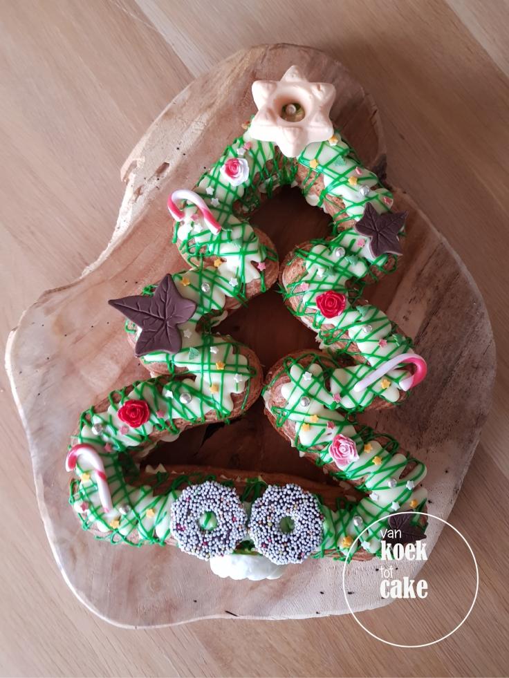 Kerst eclair gebak bestellen Middelburg Oost-Souburg Vlissingen - van koek tot cake