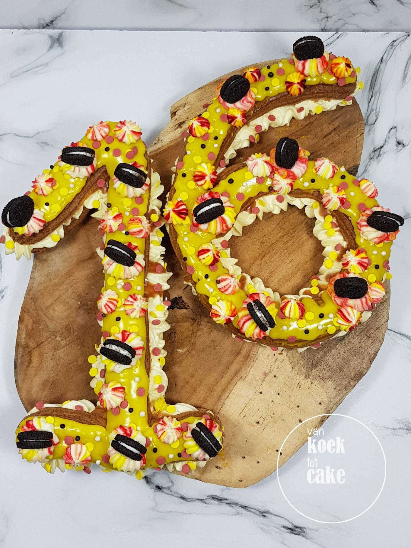 Iets Nieuws ECLAIR | Sweet sixteen – van koek tot cake &MU99