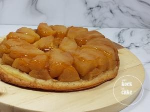 Recept Tarte tartin met verse appels - uit de cursus bij Robert - van koek tot cake