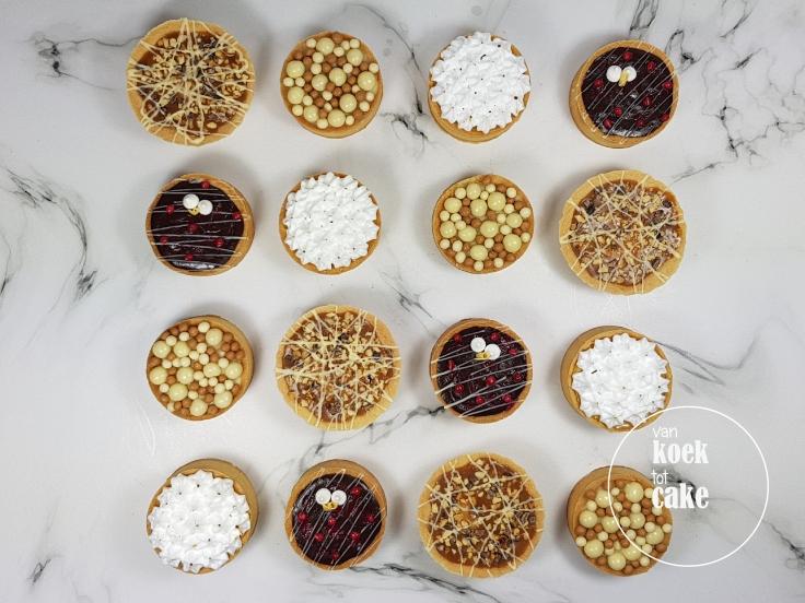 Recept bodempjes tartelettes kleine taartjes petit gateau - van koek tot cake
