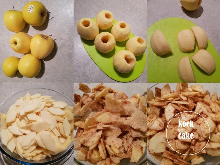 Recept voor de lekkerste appeltaart met laagjes deeg - van koek tot cake