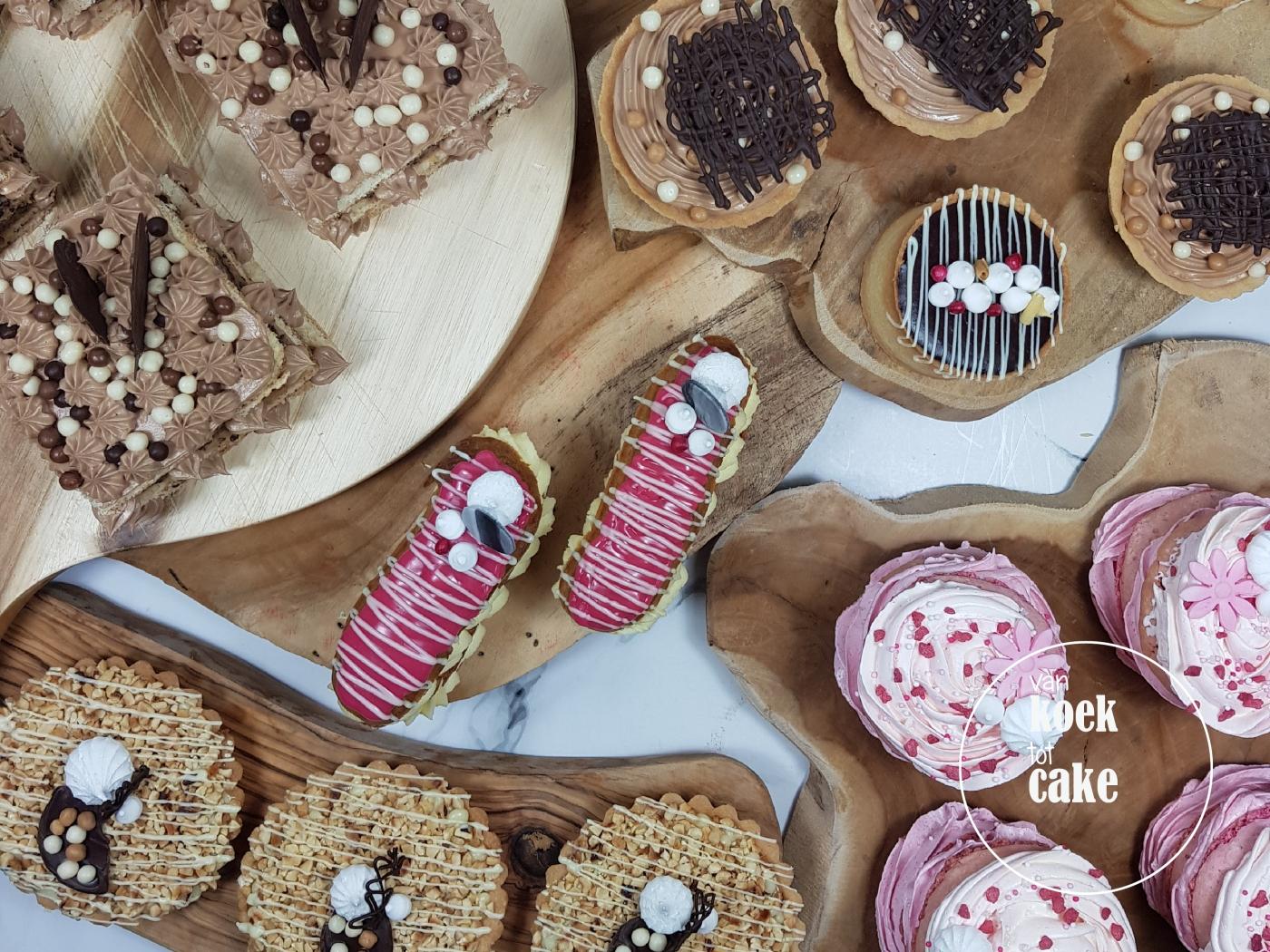 Gebak of traktatie bestellen voor je verjaardag - Middelburg Vlissingen Oost-Souburg - van koek tot cake