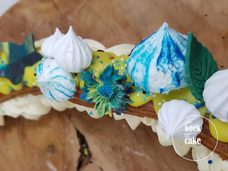 Tropical delight | Eclair met Zwitsere room | Bestellen Vlissingen Middelburg, Zeeland | van koek tot cake