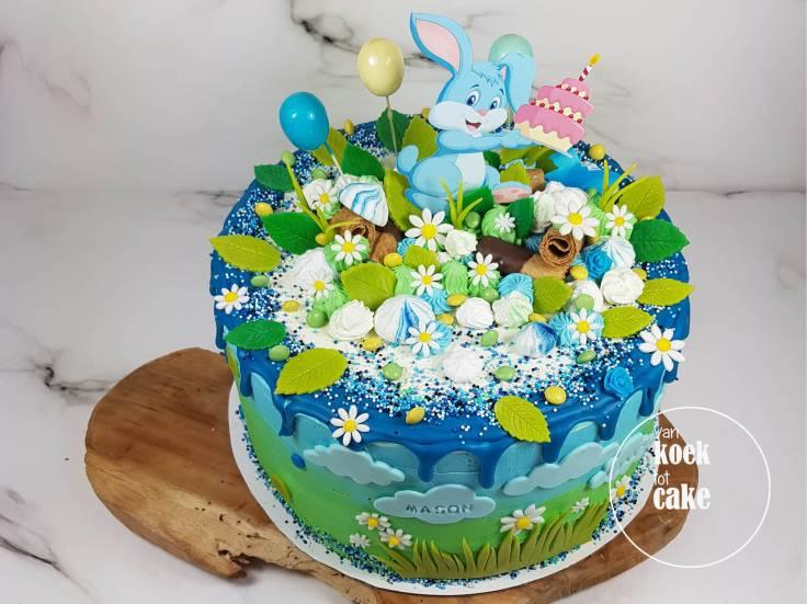 verjaardagstaart_jongen_1_jaar_konijntjes-haasjes(5)_vankoektotcake_bestellen_middelburg-vlissingen-oost-souburg