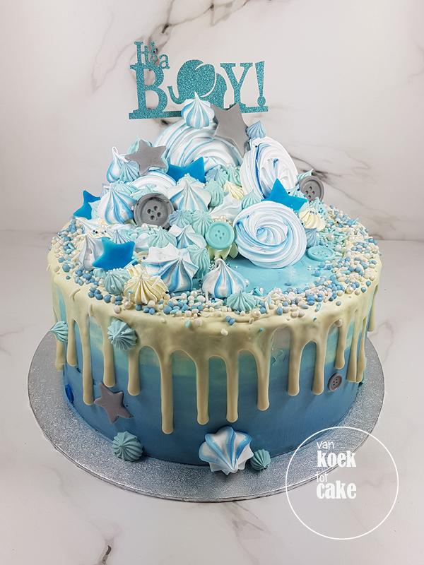 babyshower_geboorte_taart_its-a-boy_jongen_blauw_(3)van-koek-tot-cake