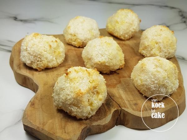 Recept kokosbollen (a la madame Cocos) met witte chocolade | van koek tot cake