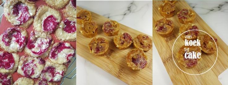 Recept mini blondies witte chocolade met aardbei - makkelijke recepten - van koek tot cake - middelburg vlissingen oost-souburg Zeeland
