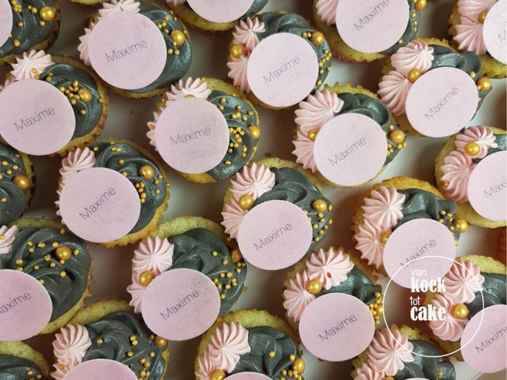 mini-cupcakes-naam-roze-zwart-goud_bestellen-Vlissingen-Middelburg-Oost-Souburg(3)